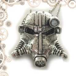 collier steampunk masque plonge face