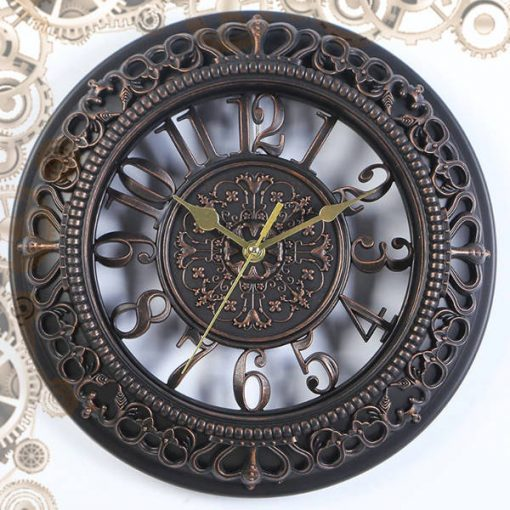 horloge steampunk antique bronze