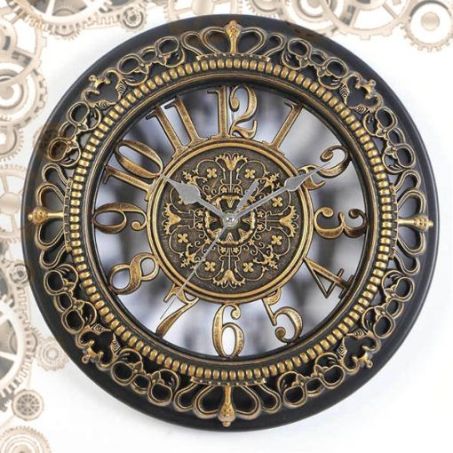 horloge steampunk antique laiton