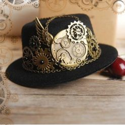 mini chapeau steampunk engrenages