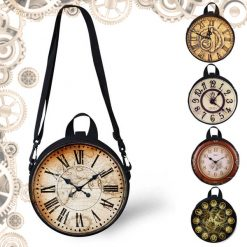 Sac horloge steampunk lot