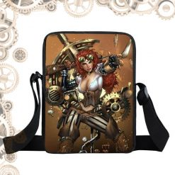 Sac steampunk steam girl engrenages