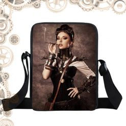 Sac steampunk steam girl fumeuse