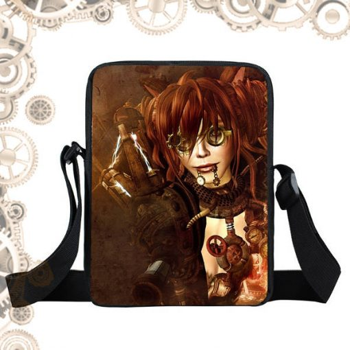 Sac steampunk steam girl tesla