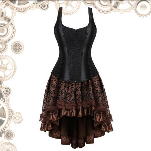 mini robe steampunk